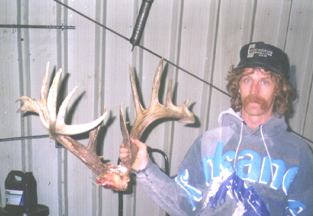 Tim Kerner with Huge Whitetail